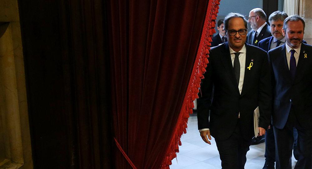 Quim Torra, el candidato a la Presidencia de la Generalita (Gobierno catalán)