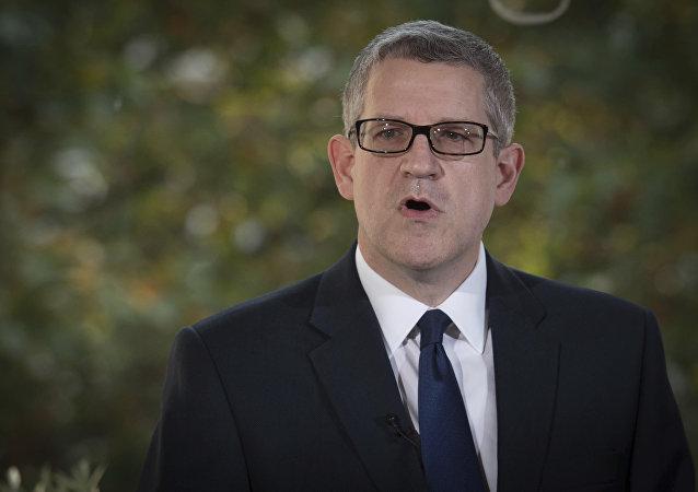 Andrew Parker, jefe del Servicio de Seguridad del Reino Unido