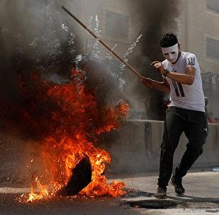Protestas en Ramala