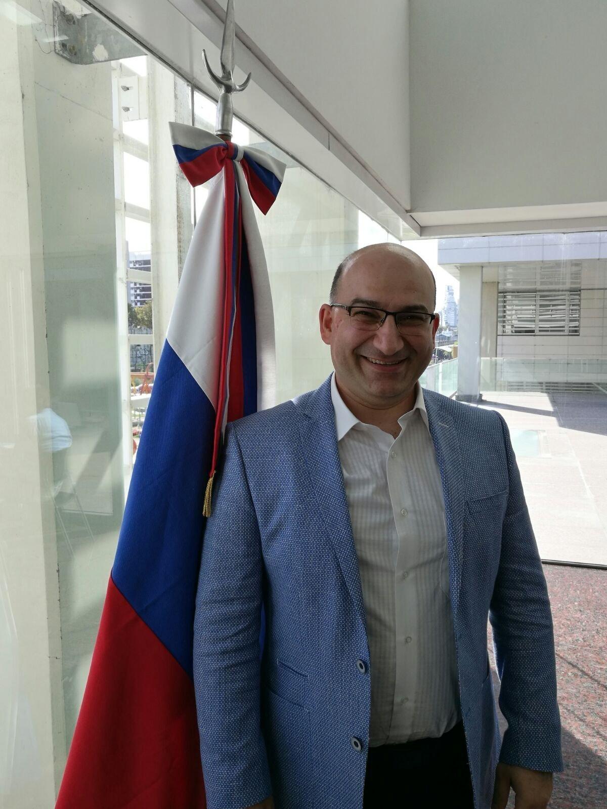 Edward Krizhanovsky, CEO de la firma Brain Beat