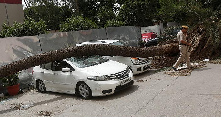 Al menos 47 muertos durante tormentas eléctricas en India