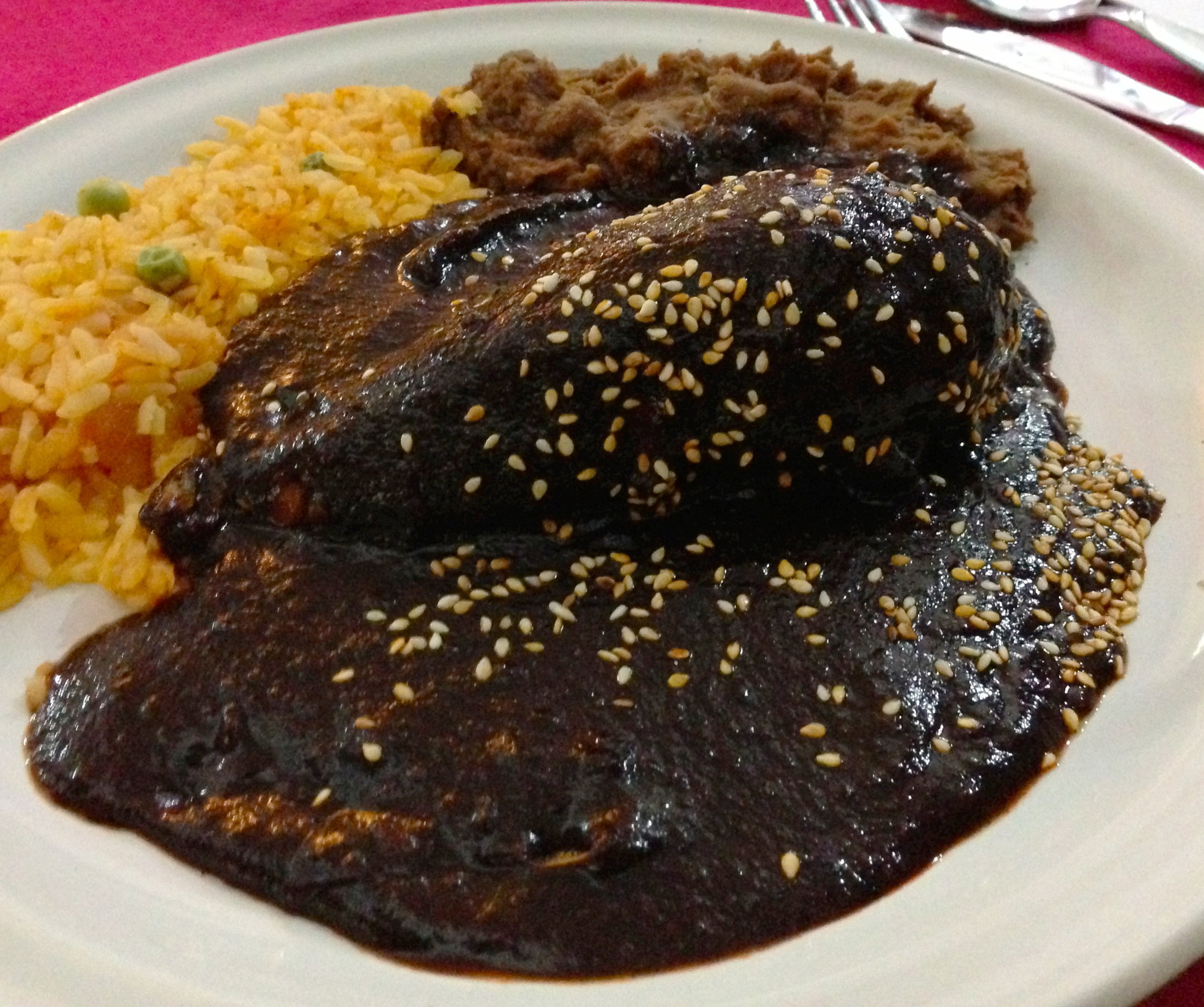 Mole, comida típica mexicana