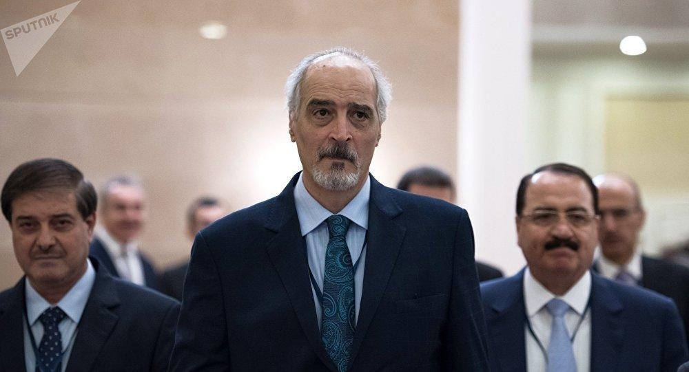 Bashar Jaafari, el embajador de Siria ante la ONU