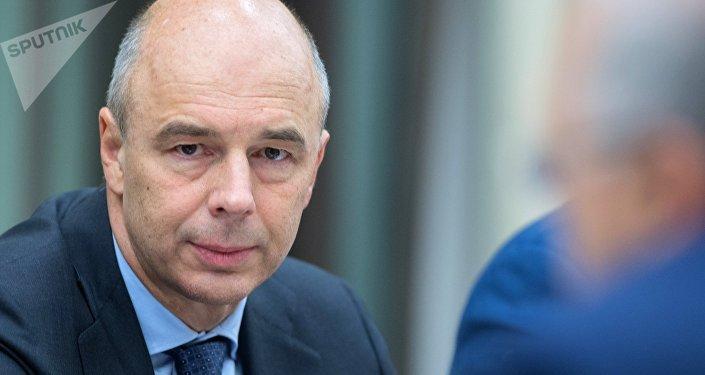 Antón Siluánov, ministro de Finanzas de Rusia entre 2011 y 2018 (archivo)