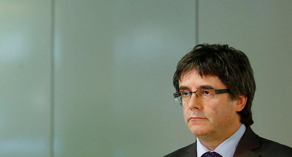 Carles Puigdemont, el expresidente de la Generalitat