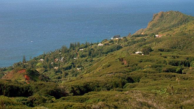 Adamstown es la única ciudad de Pitcairn y la capital oficial más pequeña del mundo