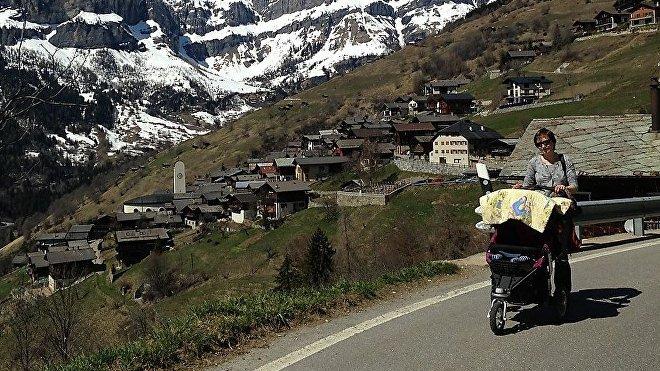 Albinen está ubicada en la cantón del Valais y a tres horas de Zurich