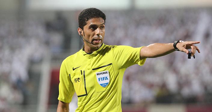 Fahad Mirdasi, el árbitro de fútbol de Arabia Saudí