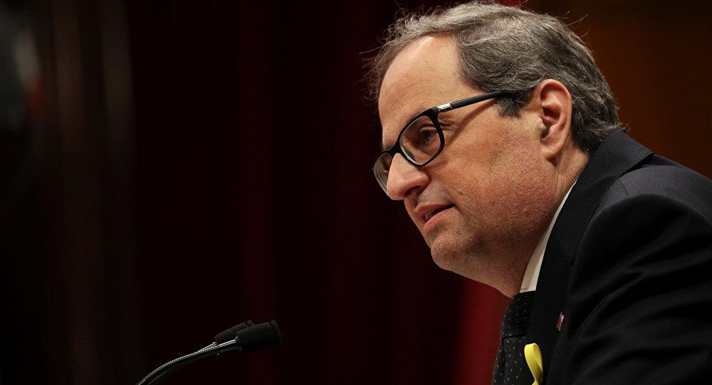 Quim Torra nuevo presidente de la Generalitat de Cataluña