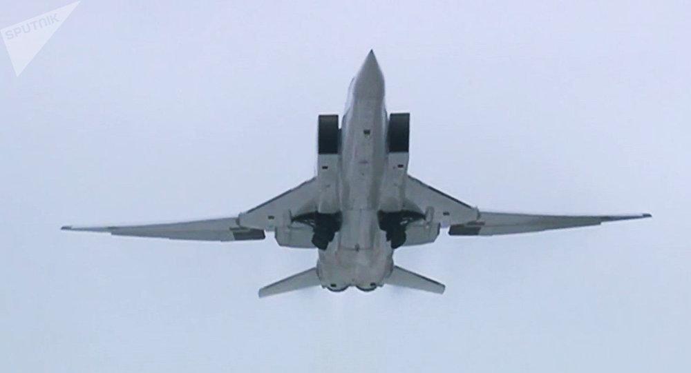 Un bombardero de largo alcance de Rusia