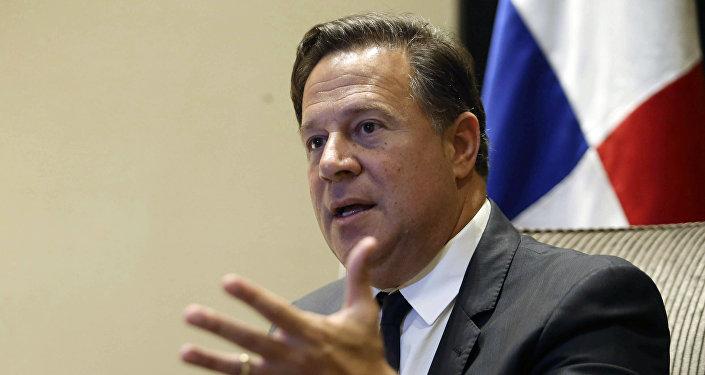 Juan Carlos Varela, el presidente de Panamá