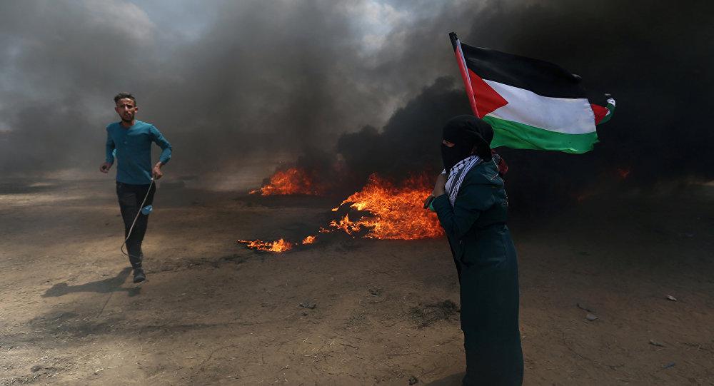 Dos muertos por disparos israelíes durante las protestas en Gaza