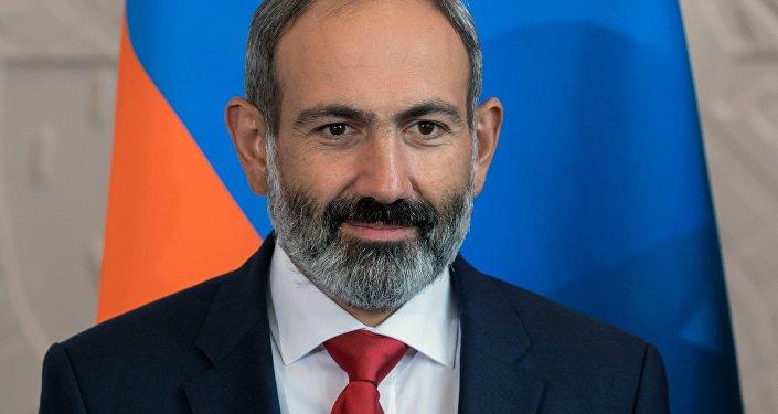Nikol Pashinián, el primer ministro de Armenia