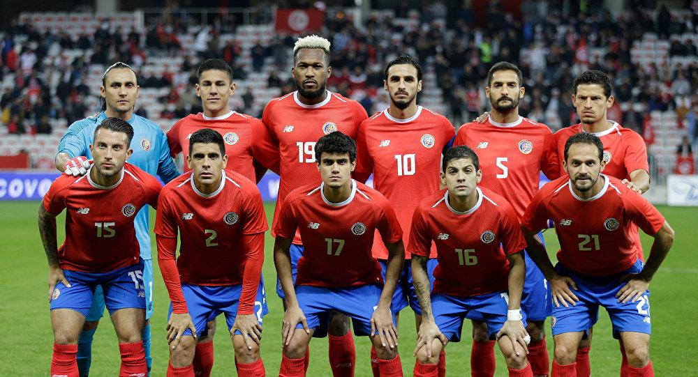La selección de fútbol de Costa Rica