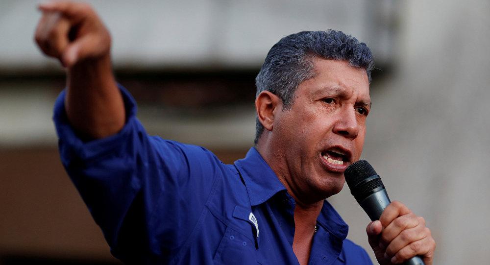 Henri Falcón, candidato presidencial venezolano