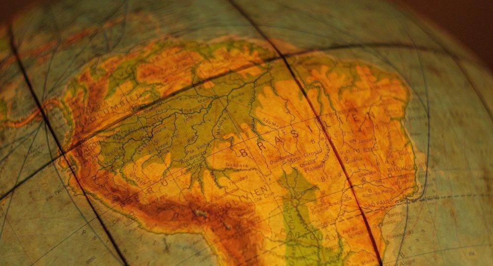 Mapa de América Latina (archivo)