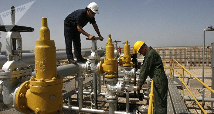 Una refinería de petróleo en Irán (imagen referencial)