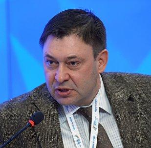 Kiril Vishinski, el jefe del portal de noticias RIA Novosti Ukraina