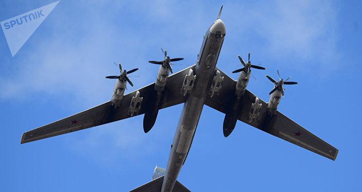 Un bombardero ruso (imagen referencial)