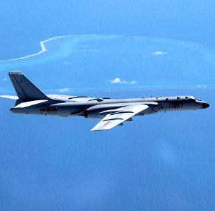 El bombardero H-6K, actualmente a servicio de las FFAA de China
