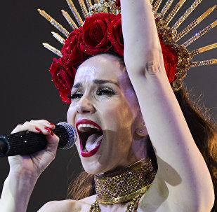 Natalia Oreiro, cantante y actriz uruguaya