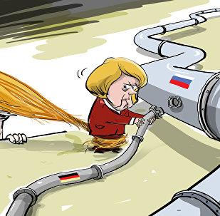 ¡No des luz verde al Nord Stream 2! Trump intenta atraer a Merkel a la posición de EEUU