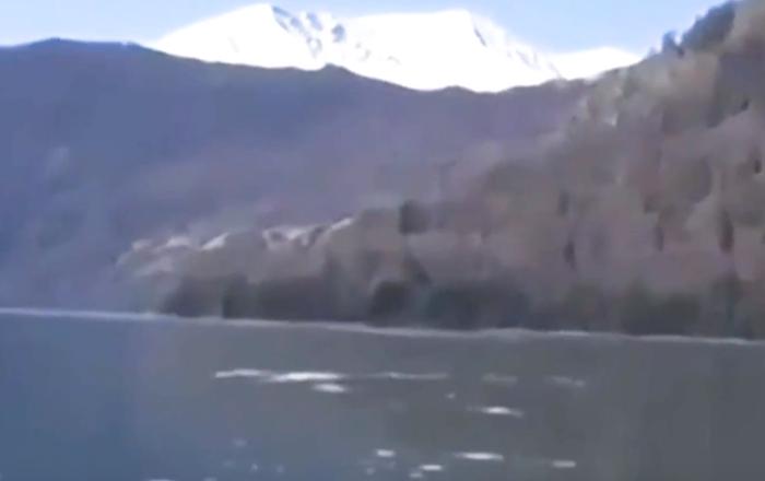 ¿Podría ser este el monstruo del lago Ness chino?