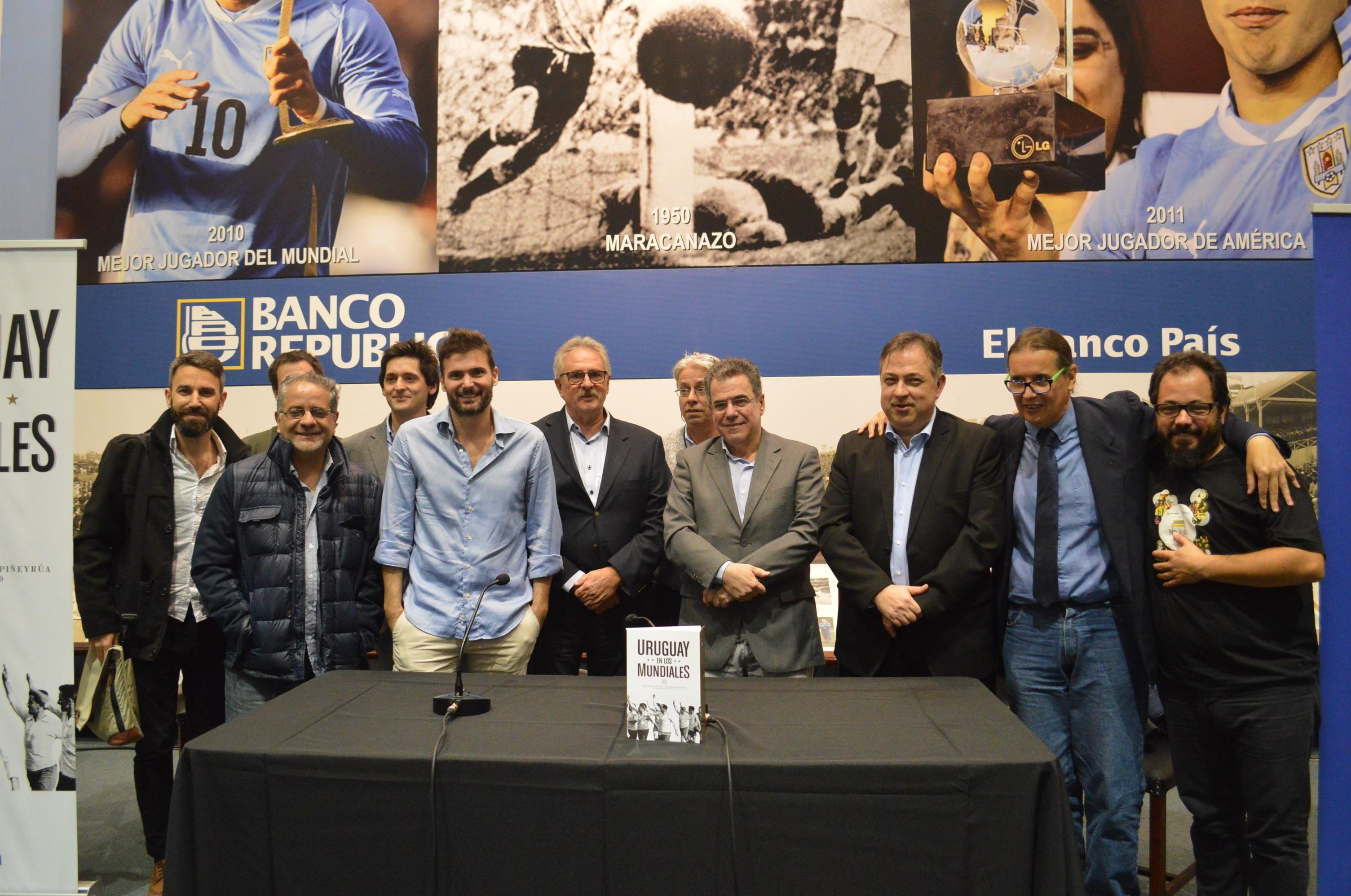 Presentación del libro 'Uruguay en los Mundiales'