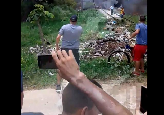 Lugar de la caída del avión Boeing-737 en Cuba