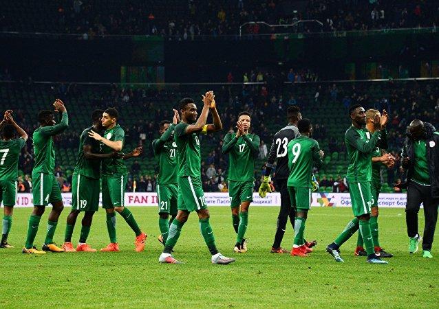 Nigeria ganó a Argentina en el partido amistoso por 4-2 celebrado en la ciudad rusa de Krasnodar en noviembre de 2017