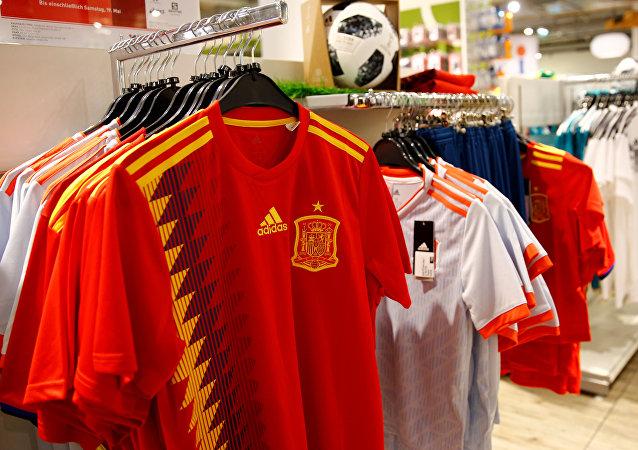 Camisetas de la selección española de fútbol