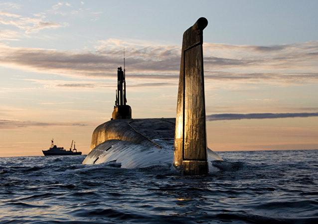 Submarino estratégico nuclear ruso del proyecto Boréi