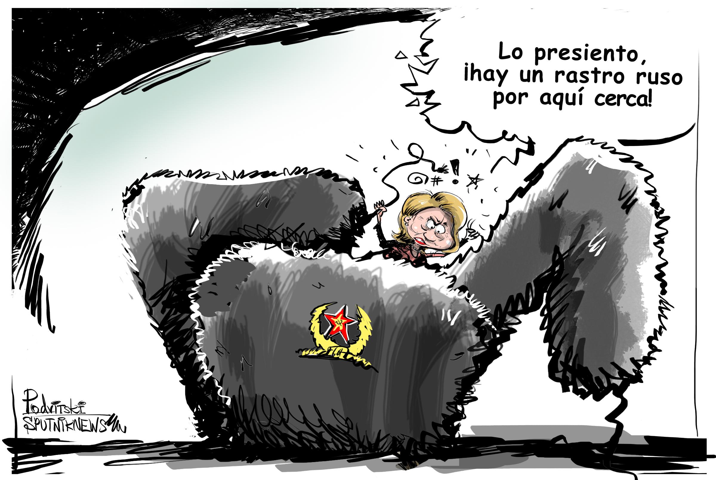 Clinton se pasa al bando ruso