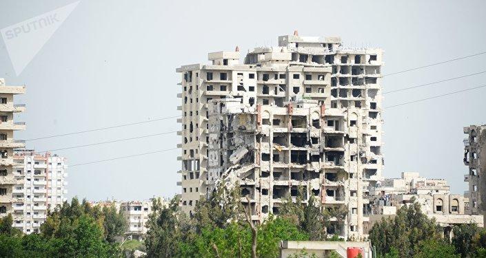 La ciudad siria de Homs (archivo)