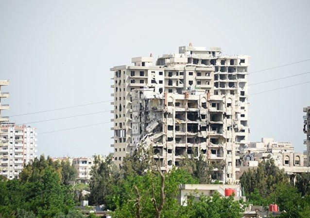 La ciudad siria de Homs