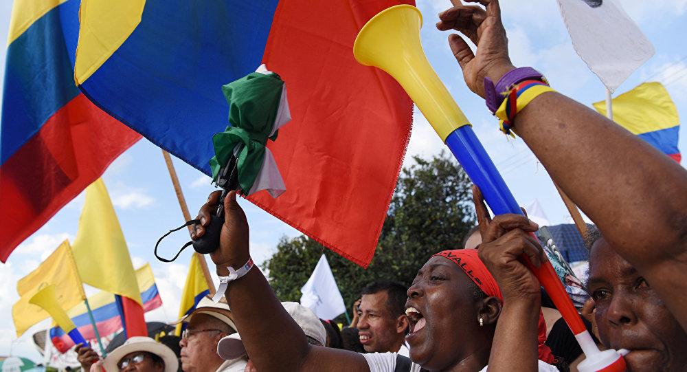 Banderas de Colombia (archivo)