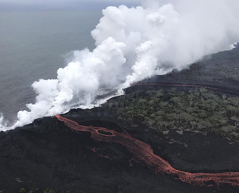 Naturaleza desencadenada: la espectacular erupción del volcán hawaiano Kilauea
