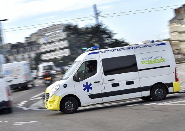 Ambulancia francesa (imagen referencial)