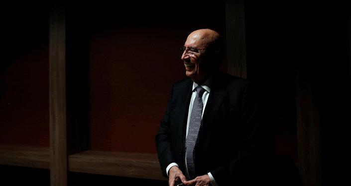 Henrique Meirelles, ministro de Economía y Hacienda de Brasil, candidato presidencial