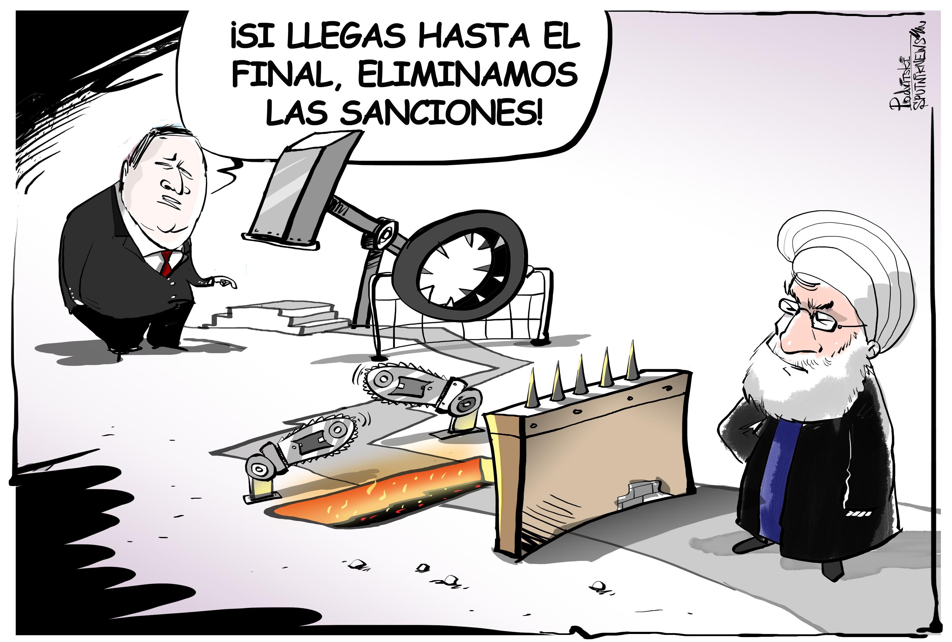 La carrera de las sanciones, nivel Irán