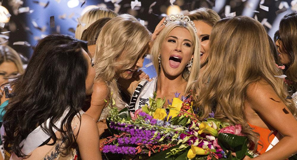 Sarah Rose Summers, de Nebraska, ganadora del concurso de belleza Miss USA