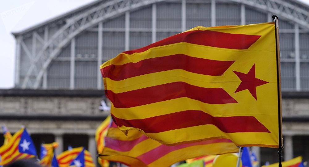 Diada: miles de personas se manifiestan en Barcelona