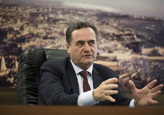 El ministro de Inteligencia y Transporte de Israel, Israel Katz