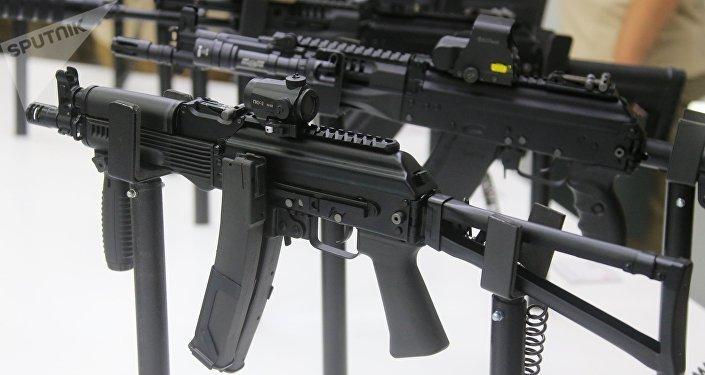 La pistola-ametralladora Vityaz-SN