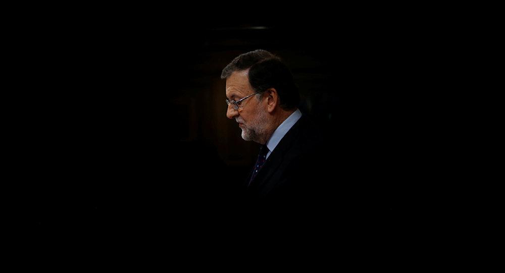 Mariano Rajoy, candidato del conservador Partido Popular a la presidencia del Gobierno y actual presidente en funciones