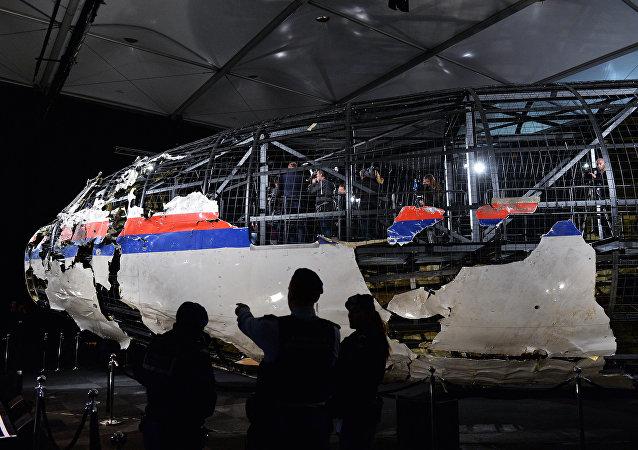 Presentación del informe final sobre el MH17 (archivo)