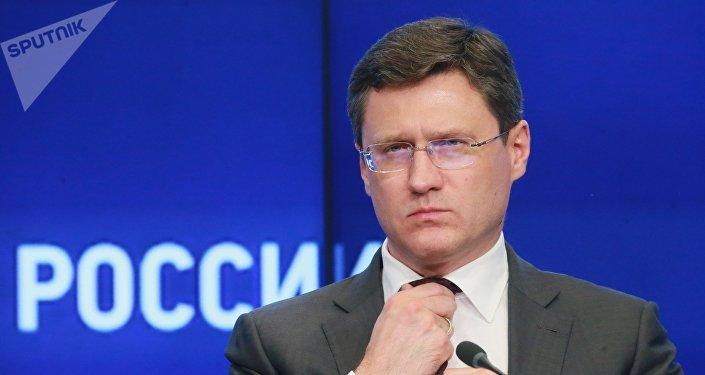 Alexandr Nóvak, el ministro ruso de Energía