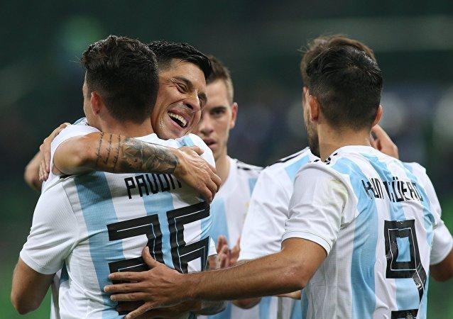 La selección argentina de fútbol