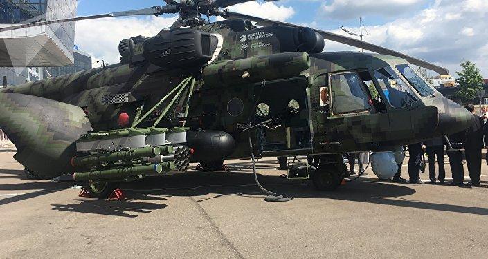 El helicóptero Mi-171Sh