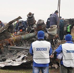 Expertos de Holanda reconocen partes del vuelo MH17 siniestrado en Ucrania